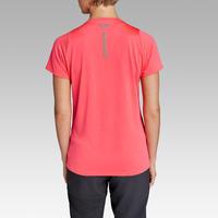Run Dry Women's Running T-shirt - Coral