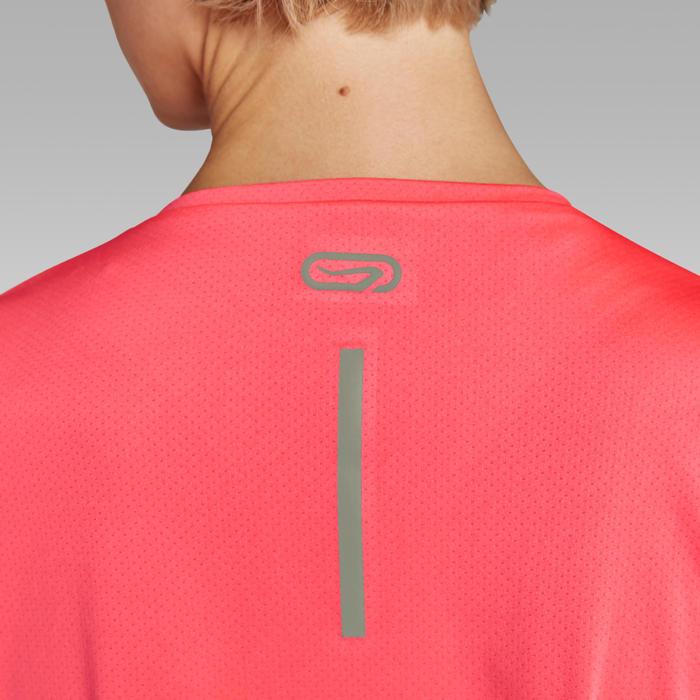 Áo thun chạy bộ Run Dry cho nữ - San hô