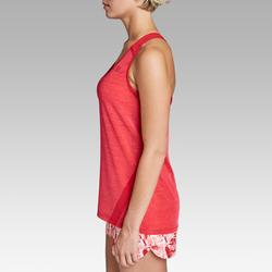 Damestop voor jogging Run Light rood