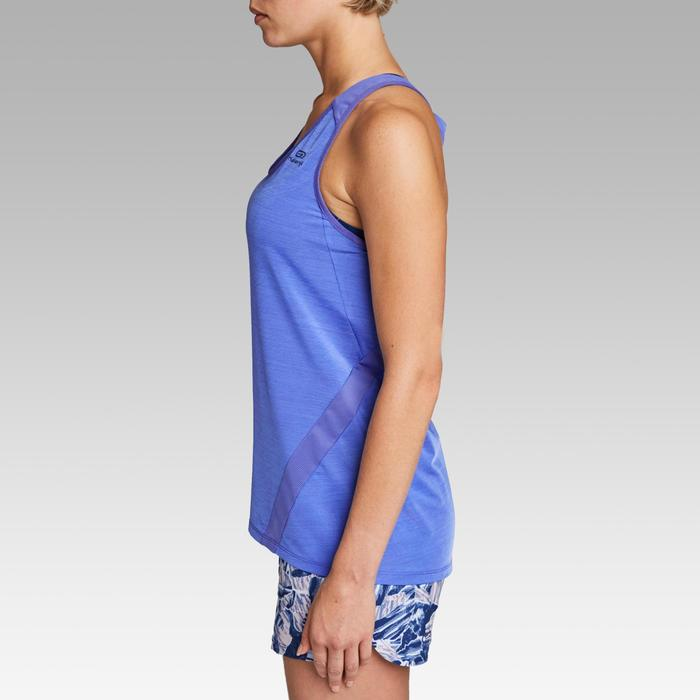 Damestop voor jogging Run Light lavendelblauw