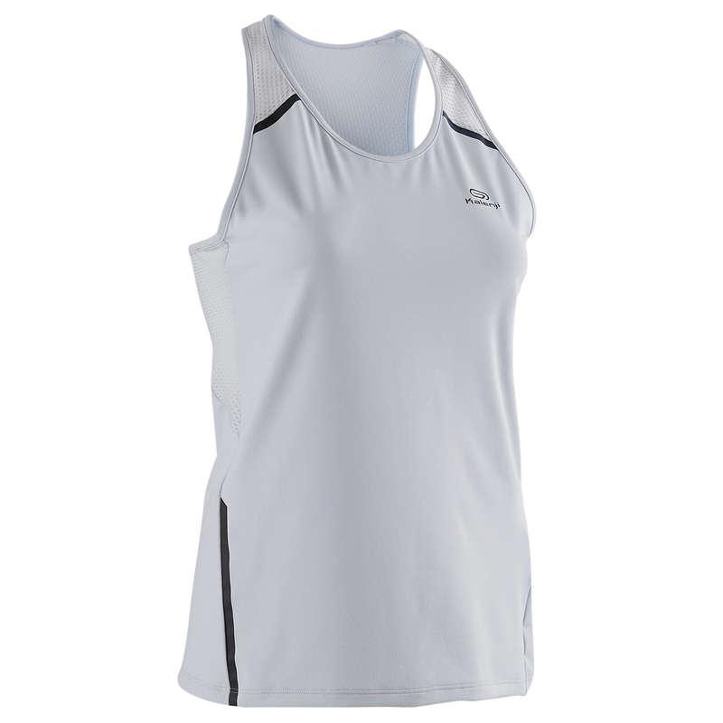 REGULAR WOMAN JOG WARM/MILD WHTR CLOTHES - Run Dry+ Women's Tank Top KALENJI