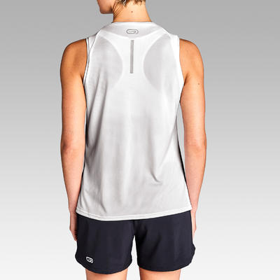 Run Dry Women's Running Tank Top - White