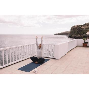 Correa Yoga Domyos Beige Algodón Bio