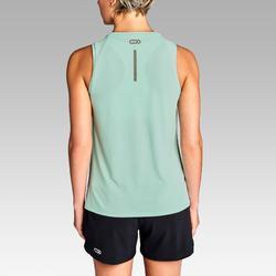 Hardlooptop voor dames Run Dry lichtgroen
