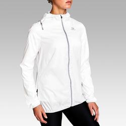 Hardloopjasje voor dames Run Wind wit