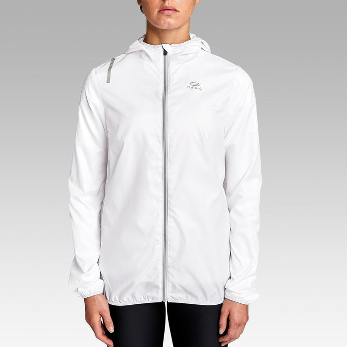 VESTE COUPE VENT JOGGING FEMME RUN WIND BLANCHE