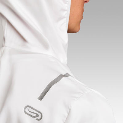 Run Wind Women's Running Windproof Jacket - White