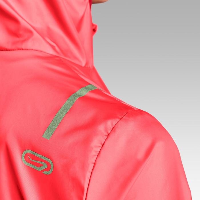 VESTE COUPE VENT RUNNING RUN WIND ROSE CORAIL FLUO FEMME