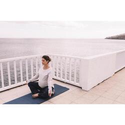 Yoga-Zafu grau