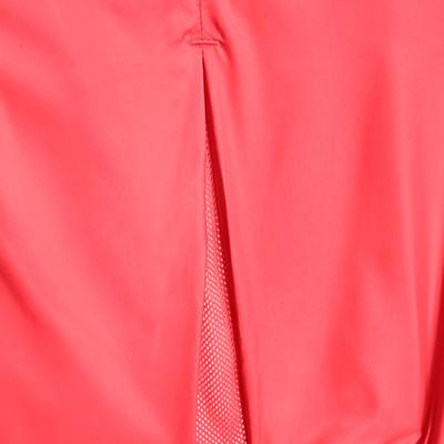 Cortavientos Chaqueta Running Kalenji Run Wind Mujer Rosado Coral/Rojo