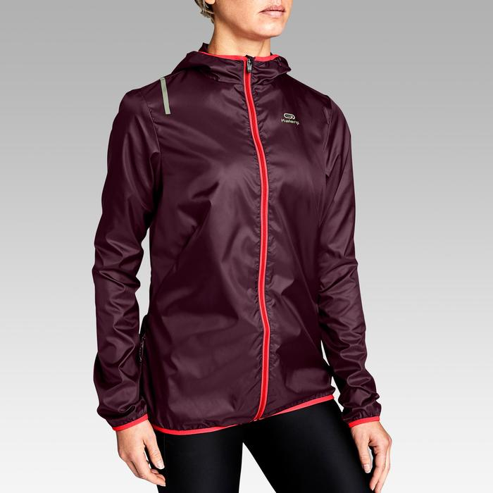 Laufjacke Run Wind Damen pflaume