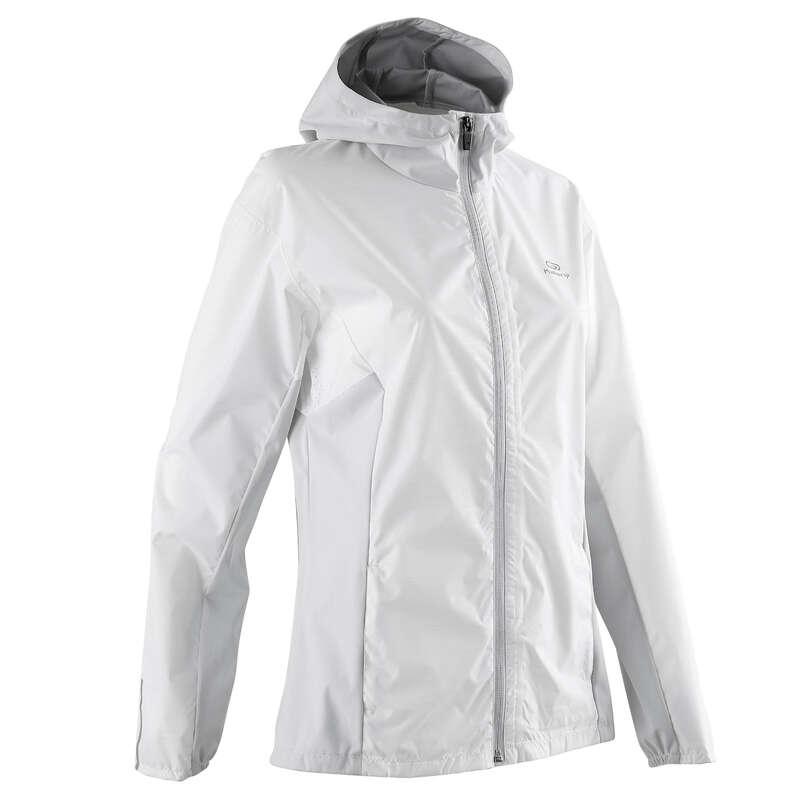 DÁMSKÉ OBLEČENÍ NA JOGGING, DO DEŠTĚ Běh - BUNDA RUN RAIN  KALENJI - Běžecké oblečení