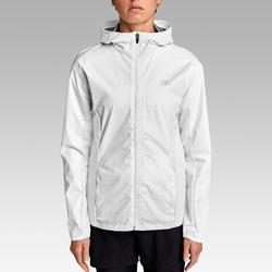 Hardloopjasje voor dames Run Rain wit