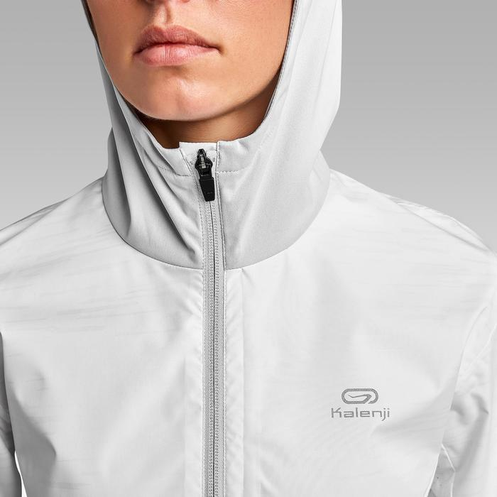 女款跑步外套Run Rain - 白色