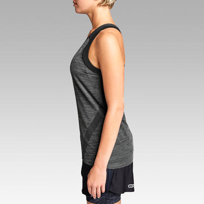 DEBARDEUR RUNNING RUN LIGHT GRIS CARBONE FEMME