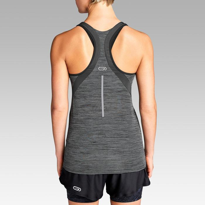 CAMISETA SIN MANGAS DE RUNNING PARA MUJER RUN LIGHT GRIS