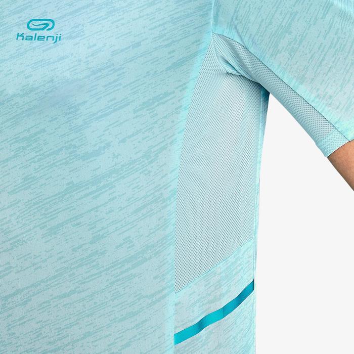 T-shirt hardlopen heren Run Dry+ pastelblauw