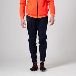 Laufhose lang Herren blau/orange