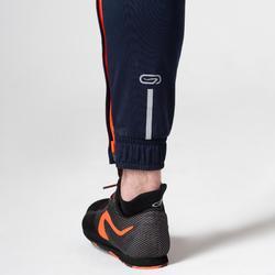 Atletiekbroek voor heren blauw/oranje