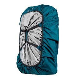 Funda Lluvia Cubremochila Impermeable Montaña Trekking Forclaz 40 60 Litros