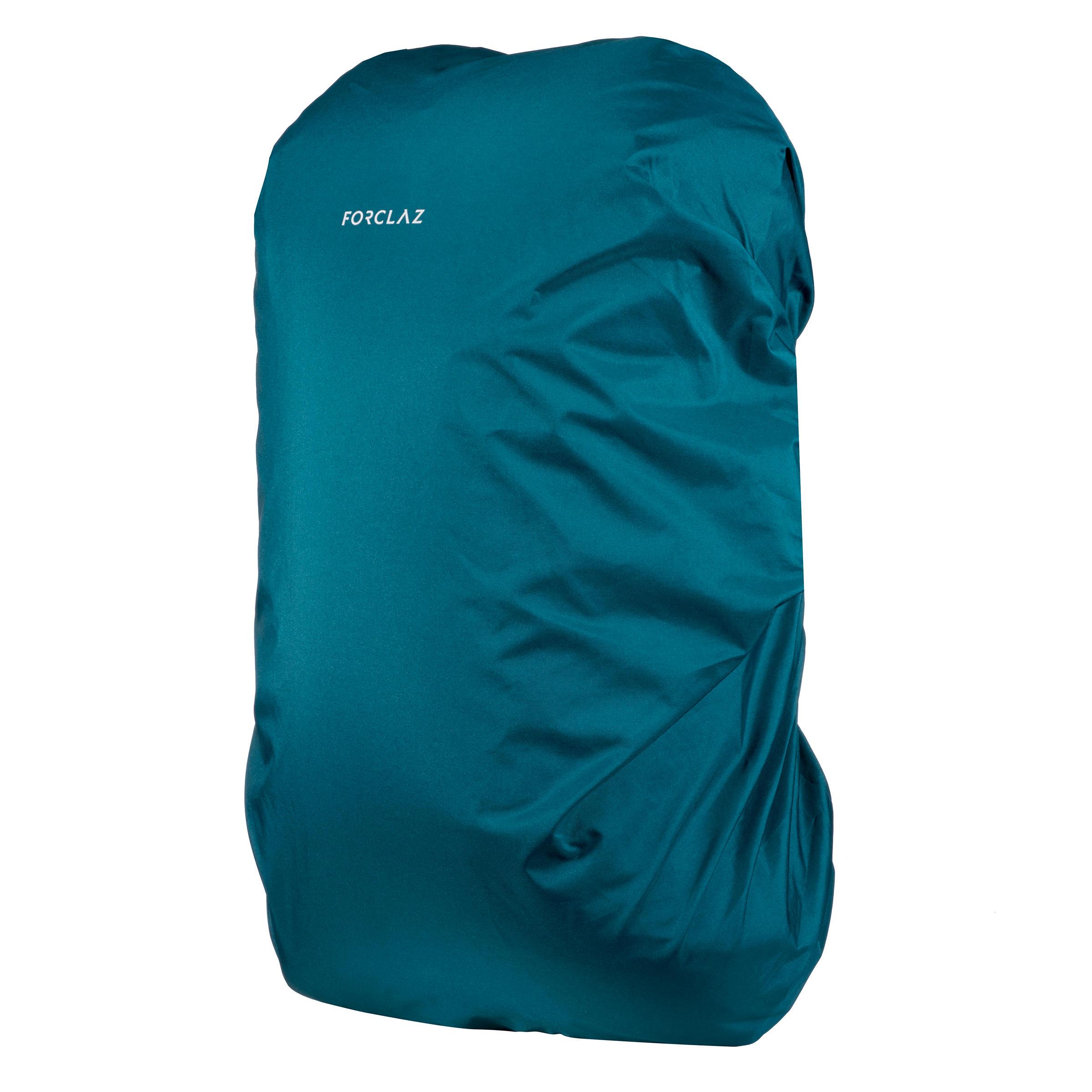 Transport- und Regenschutzhülle Travel für Rucksack mit 40-60 Liter | Taschen > Rucksäcke | Blau - Türkis | Forclaz