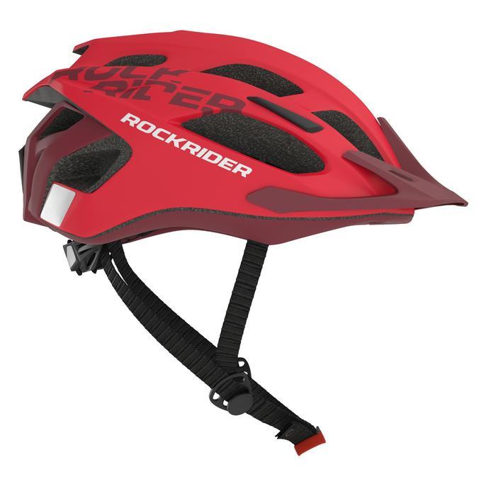 MTB helm ST 500 rood fietshelm