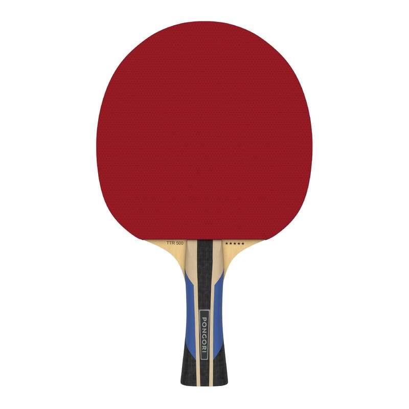 ACADEMIC RACKETS Table Tennis - TTR 500 5* Allround PONGORI - Table Tennis Equipment