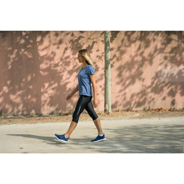 Freizeitschuhe Walking PW 160 SlipOn Damen marineblau