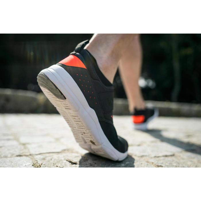 Chaussures marche sportive homme PW 160 Slip-On noir / orange