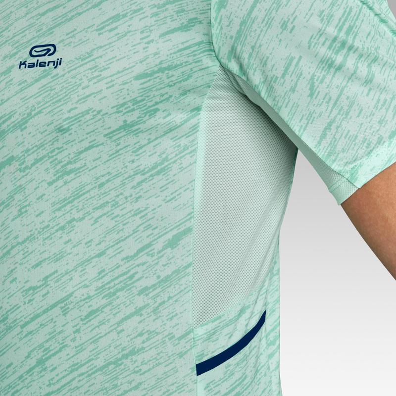 เสื้อยืดผู้ชายสำหรับใส่วิ่งรุ่น RUN DRY+ (สีเขียวพาสเทล)