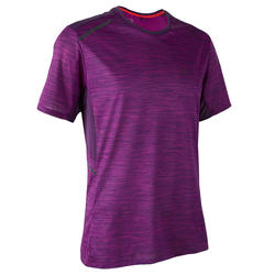 RUN DRY+ MEN'S RUNNING T-SHIRT PLUM