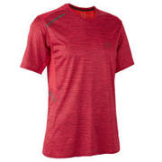 Rdeča moška tekaška majica RUN DRY+