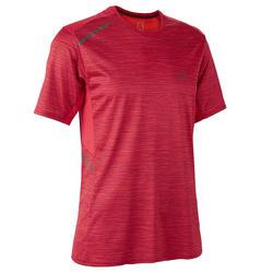男款跑步T恤RUN DRY+紅色