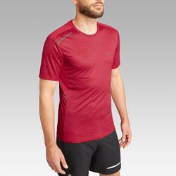 Laufshirt Run Dry+ Herren rot meliert