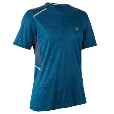 Boutique en ligne 6ceed 56fcf Camiseta Manga Corta Running Kalenji Run DRY+ Hombre Azul Petróleo