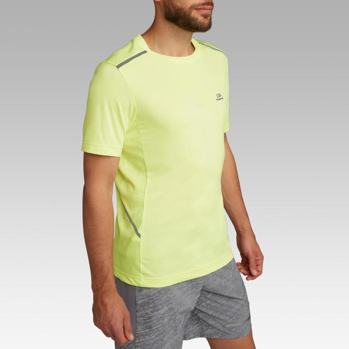 男款跑步T恤RUN DRY+ BREATHE - 霓虹黃