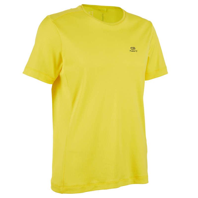 ODZIEŻ MĘSKA ODDYCHAJĄCA DO BIEGANIA OKAZJONALNEGO Bieganie - Koszulka RUN DRY KALENJI - Odzież do biegania