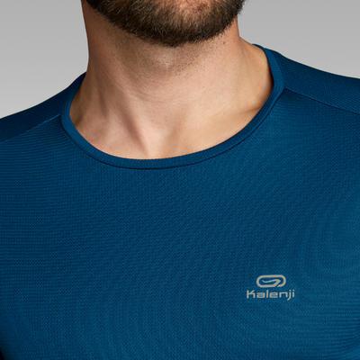 Чоловіча футболка Run Dry для бігу, з короткими рукавами - Синя