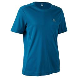 男款跑步T恤RUN DRY - 靛藍色