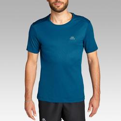 Ademend T-shirt voor hardlopen heren Dry Pruisisch blauw