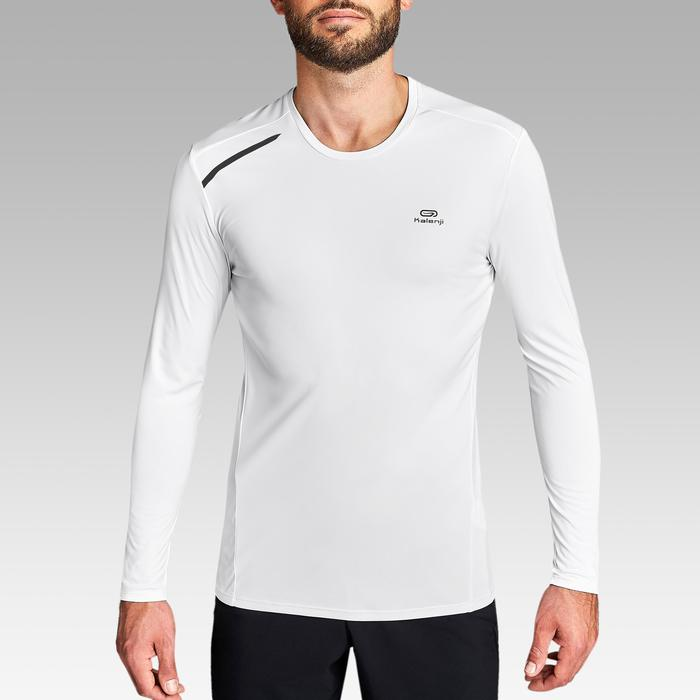 TEE SHIRT RUNNING HOMME SUN PROTECT BLANC