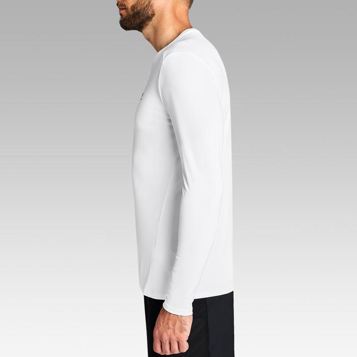Hardloop T-shirt voor heren Sun Protect wit