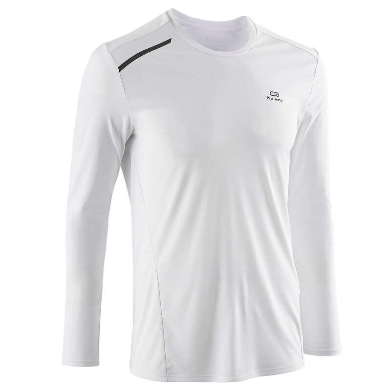 ODZIEŻ MĘSKA ODDYCHAJĄCA DO BIEGANIA OKAZJONALNEGO Bieganie - Koszulka ANTY-UV  KALENJI - Odzież do biegania
