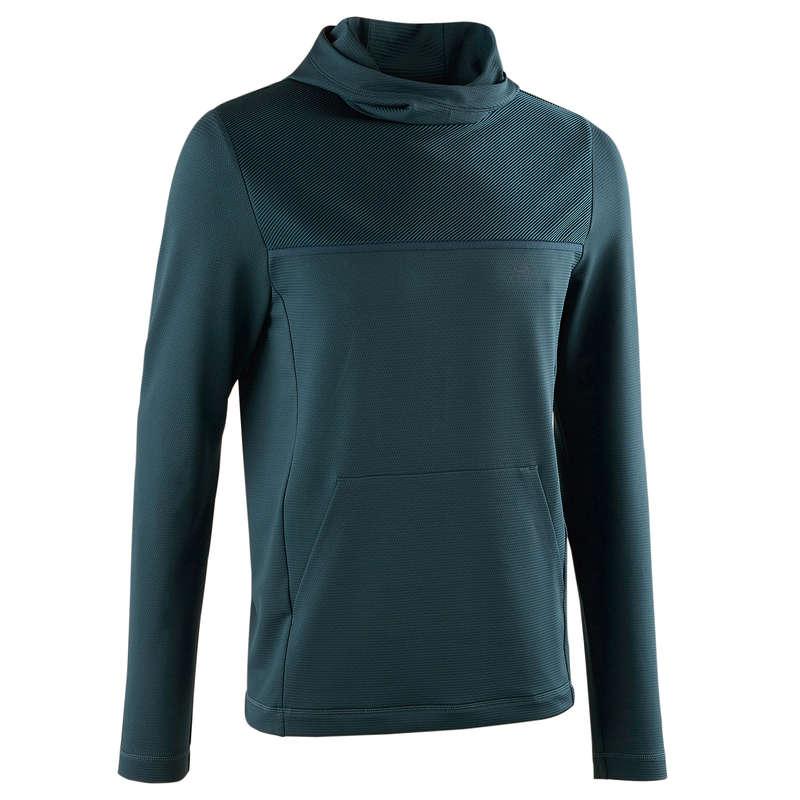 ODZIEŻ MĘSKA ODDYCHAJĄCA DO BIEGANIA REGULARNEGO Bieganie - Bluza męska RUN DRY+ KALENJI - Odzież do biegania