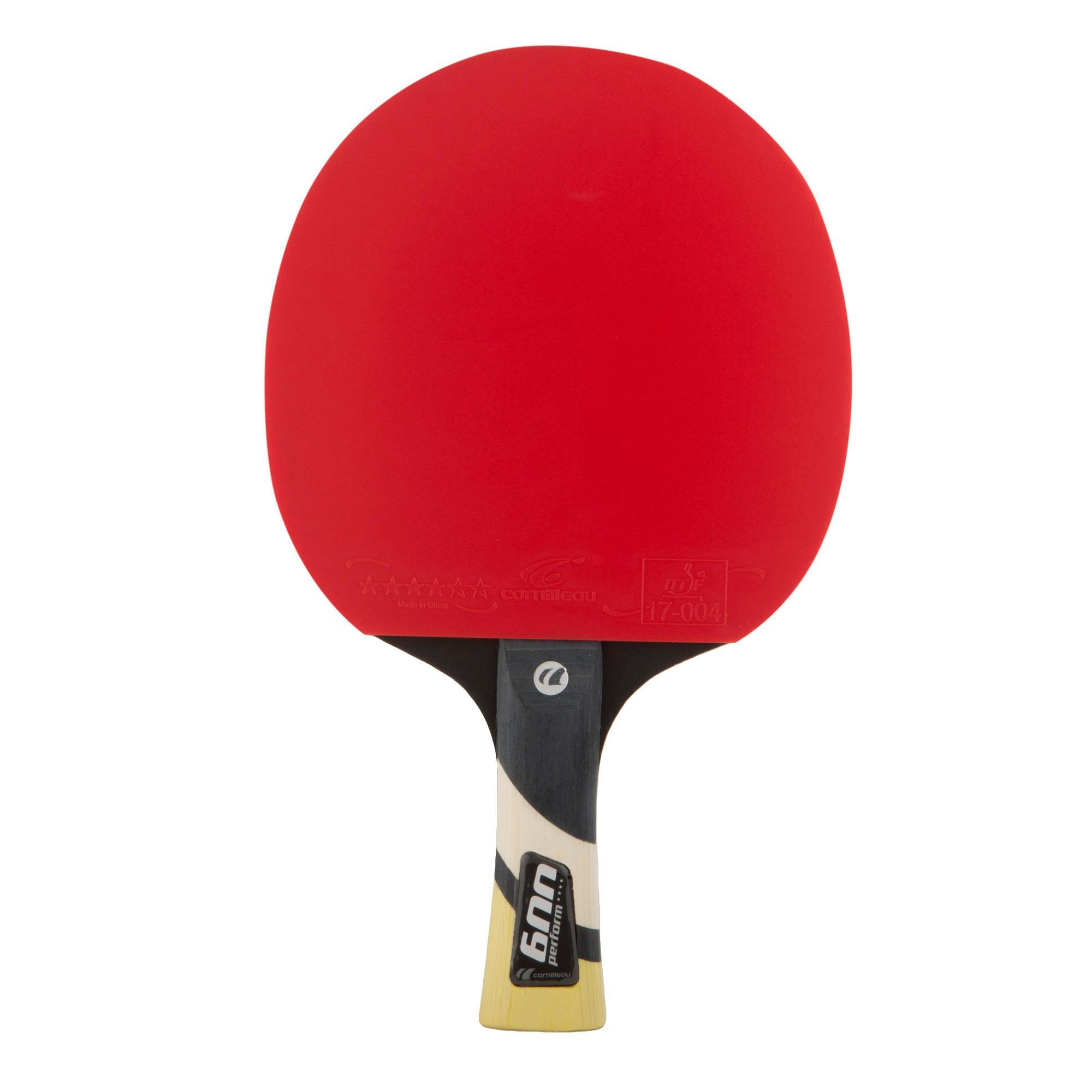 Cornilleau raquette de tennis de table en club et en cole 600 perform 4 decathlon - Raquette de tennis de table decathlon ...