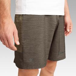 Hardloopshort voor heren Run Dry+ bruin