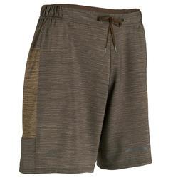 男款跑步短褲RUN DRY+ - 棕色