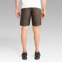 RUN DRY+ MEN'S RUNNING SHORTS - BROWN