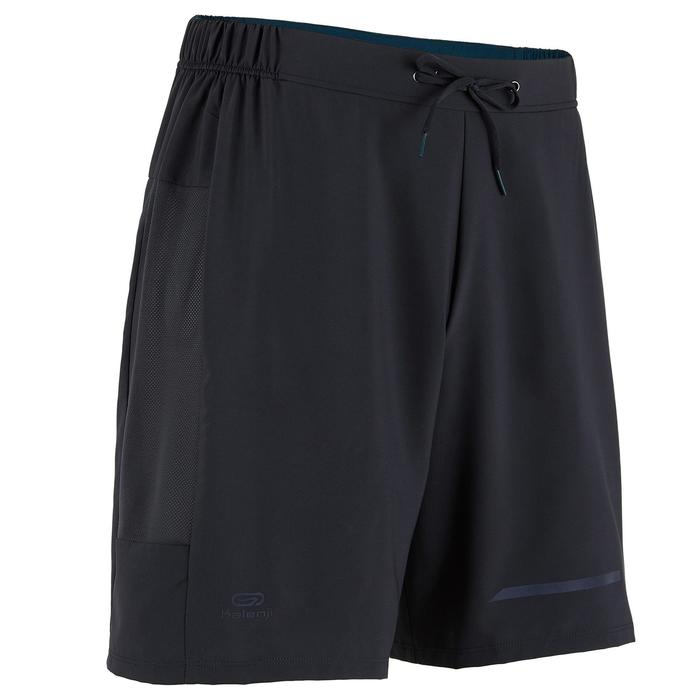 男款跑步短褲RUN DRY+ - 靛藍色