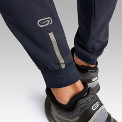 RUN DRY MEN'S RUNNING TROUSERS - PETROL BLUE